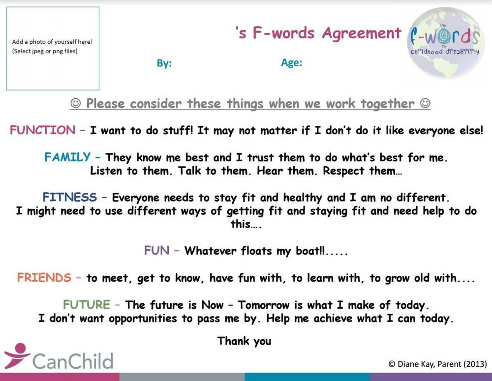F words agreement